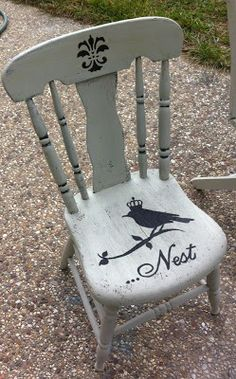 Farm Chair Painted