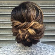 Classic bridal updo by Heather Chapman