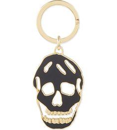 #ALEXANDERMCQUEEN #Skull head keyring £70.00 #Selfridges