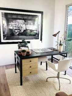cococozy hollywood hills with a view weekend house tour such a cute home black white home office cococozy 5