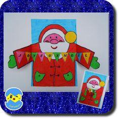 carte simple  carte Joyeux Noël  D'autres idées pour Noël !  ICI Carpet Bag, Noel Christmas, Crafts For Kids, Santa, Kids Rugs, Diy, Character, Grade 2, Simple