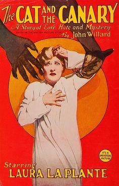 The Cat and the Canary, 1927, John Willard,