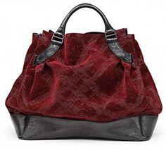 Burberry Check dévoré Woolf bag.  I'm pretty sure this would look amazing hanging on my arm!