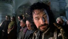 """1991 - Alan Rickman as the Sheriff of Nottingham in """"Robin Hood: Prince of Thieves."""""""