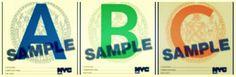 A New York i ristoranti sono obbligati a esporre sulla porta d'ingresso, la lettera dell'alfabeto che corrisponde all'ispezione effettuata http://tuttacronaca.wordpress.com/2013/11/04/occhio-alla-lettera-i-ristoranti-e-ligiene/