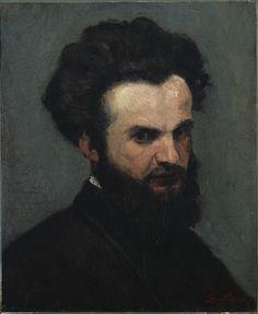 Armand Guillaumin: Self portrait, 1872-74