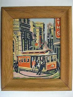 San Francisco Scenes 20G2 | Paint By Number Museum