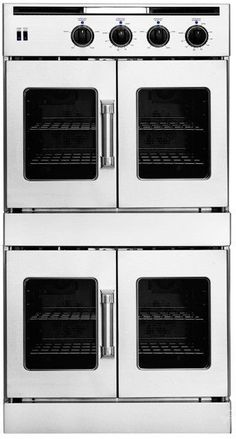 Double oven with French doors