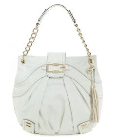 Lorraine North South Hobo Bag in white - GUESS....Want for Spring!