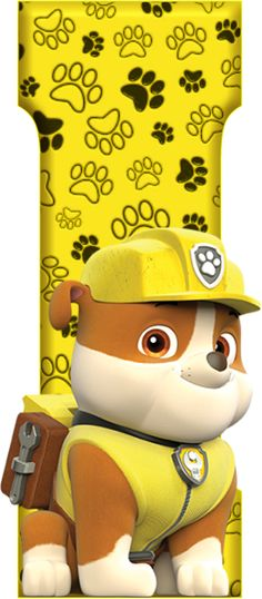 *✿**✿*I*✿**✿*DE ALFABETO DECORATIVO Paw Patrol Png, Paw Patrol Badge, Rubble Paw Patrol, Paw Patrol Party, Paw Patrol Birthday, 2nd Birthday Parties, Birthday Party Decorations, Insignia De Paw Patrol, Candyland