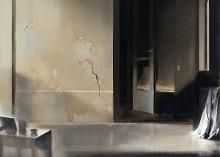 Untitled 2014, acrylic on canvas, 60 x 60 cm