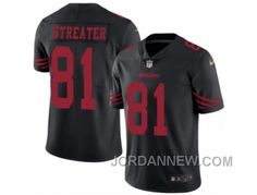 http://www.jordannew.com/youth-nike-san-francisco-49ers-81-rod-streater-limited-black-rush-nfl-jersey-authentic.html YOUTH NIKE SAN FRANCISCO 49ERS #81 ROD STREATER LIMITED BLACK RUSH NFL JERSEY DISCOUNT Only $23.00 , Free Shipping!