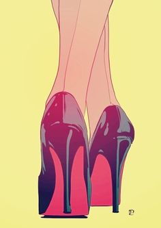 0f4ea31c3ea3 It s time to pay me back Drawing Heels