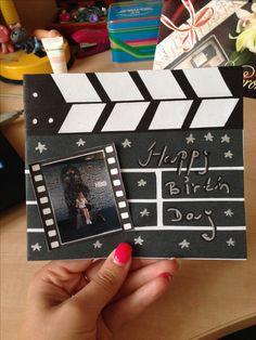 Diy Birthday card movie