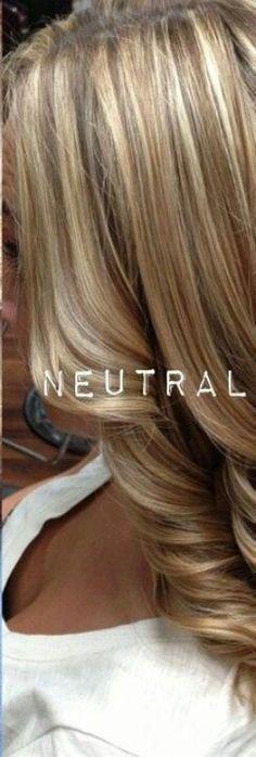 neutral blonde
