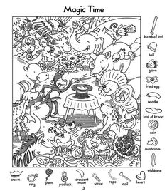 Highlights Hidden Pictures, Hidden Pictures Printables, Hidden Picture Puzzles, Tales Of Halloween, Free Printable Word Searches, Hidden Images, Hidden Pics, Bible Images, Hidden Objects
