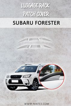 Car accessories for Subaru Forester Luggage Rack Patch Cover Matte Silver Decoration Trim. Must have car customization and decoration accessories. Put it on your car essentials list. A breathe of fresh air for your Subaru Forester. Car Rust Repair, Must Have Car Accessories, Custom Car Interior, Interior Ideas, Car Essentials, Luggage Rack, Subaru Forester, Craft Stick Crafts, Car Pictures