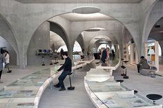Tama Art University Library, designed by Toyo Ito.