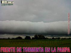 Emitieron alerta, por lluvias y tormentas, para La Pampa