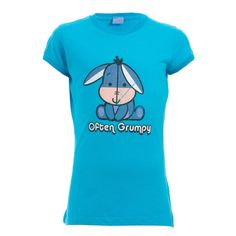 I like this top because it's bright and I love the chatecter and the saying is funny