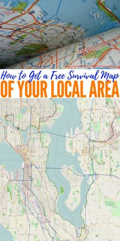 How to Get a Free Survival Map of Your Local Area — A survival map is an important part of any survival kit. There is no excuse not to have one because getting one is quick, easy, and free. Print maps of all areas you may need in the event of an emergency. If you have a bug out route planned, it is a good idea to have maps for the entire route.