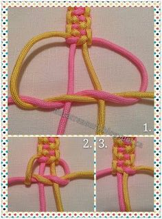 Indian Trail Paracord Bracelet Tutorial- Tap the link now to see our super collection of accessories made just for you!How to make Paracord Bracelet Rainbow is going to make paracord bracelet to her friend.Two color double square Beautiful Bracelet Diy Bracelets Easy, Bracelet Crafts, Paracord Bracelets, Survival Bracelets, How To Make Braclets, Braclets Diy, Macrame Jewelry, Macrame Bracelets, Gold Bracelets