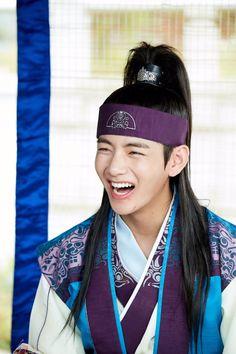 """""""BigHit posted a photo of Kim Taehyung( V) as Hansung on Hwarang. A Lunar New Year Special will air on KST. V Bts Hwarang, Hwarang Taehyung, Bts Twt, Bts Bangtan Boy, Bts Jungkook, Foto Bts, V Hwarang, Bangtan France, V Bts Cute"""