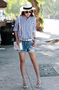 summer fashion #stripes #summer