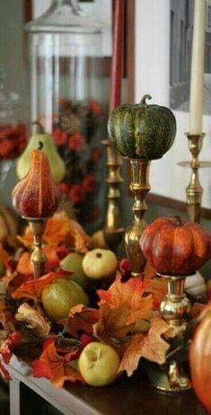 Thanksgiving Decorations, Seasonal Decor, Table Decorations, Holiday Decor, Thanksgiving Table, Centerpieces, Christmas Tables, Holiday Tables, Fall Home Decor