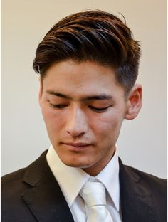 男の色気。全方向からカッコイイ、ルーズなサイドバック:L007647942|ヘアーサロン アヤタ 野田店(AYATA)のヘアカタログ|ホットペッパービューティー Korean Hairstyles Women, Asian Men Hairstyle, Japanese Hairstyles, Asian Hairstyles, Combover Hairstyles, Girl Hairstyles, Wedding Hairstyles, Long Comb Over, Comb Over Fade