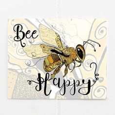It's finally Friday! One of our popular bee themed cards great for any occasion. Bff, Bee Cards, Bee Theme, Bee Happy, Cards For Friends, Coordinating Colors, Nursery Decor, Birthday Cards, Finally Friday