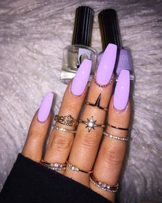 Find images and videos about fashion, nails and han Discovered by ♛blossom♛. Find images and videos about fashion, nails and han. -Discovered by ♛blossom♛. Find images and videos about fashion, nails and han. Purple Acrylic Nails, Summer Acrylic Nails, Best Acrylic Nails, Pastel Nails, Neon Purple Nails, Periwinkle Nails, Bright Nails, Summer Nails, Summer Nail Colors