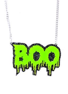 Boo! Necklace