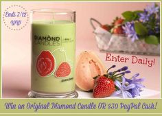 Diamond Candle or $30 Paypal Cash Giveaway