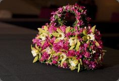 hand bags made using floral art - Google Search