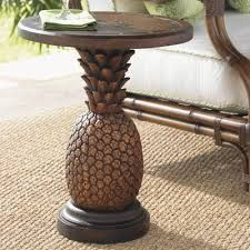 Tommy Bahama Outdoor Alfresco Living Side Table Finish: Brown