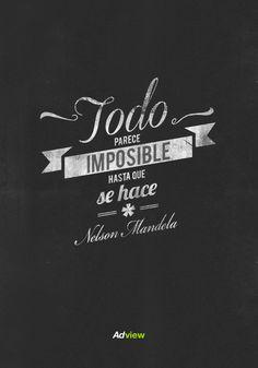 Siempre recordaremos al gran líder Nelson Mandela (1918-2013) #RIP #Quotes #Frases