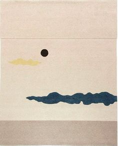 George Nakashima, Wool 'Dark Moon I' Tapestry by Edward Fields, 1959.