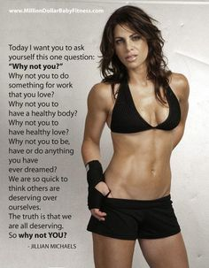 WHY NOT YOU? WHAT IS STOPPING YOU? YOU NEED MOTIVATION, THERE YOU GOT IT, GO HARD OR GO HOME.