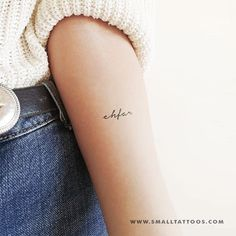 'ehfar' Temporary Tattoo (Set of - You are in the right place about 'ehfar' Temporary Tattoo (Set of Tattoo Design And Style G - French Word Tattoos, One Word Tattoos, French Tattoo, Simple Word Tattoos, Tattoo Word Fonts, Tattoo Script, Tattoo Set, Hamsa Tattoo, Minimalist Tattoo Small