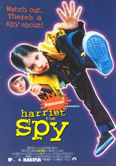 Harriet the Spy. If you haven't seen this watch it, it has the best pace of any film I ever watched and whenever the kids have it on I end up sitting and watching it too.