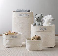 Baskets, Bins & Toy Storage | RH baby&child