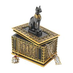 Royal Bastet Egyptian Box
