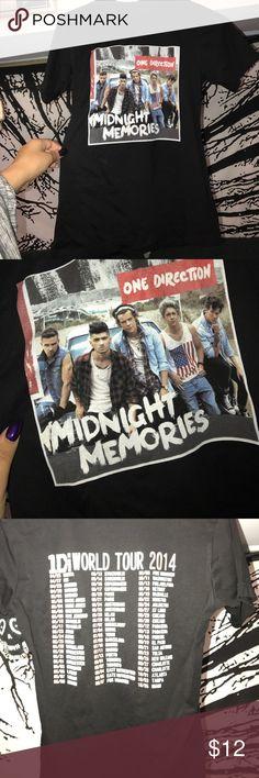 Medium One Direction tour shirt New Tops Tees - Short Sleeve