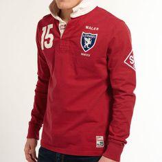 スーパードライ極度乾燥 Valiant Shirt ラガーポロシャツ