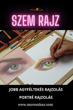 Hoppá, hogyan rajzoljunk szemet?