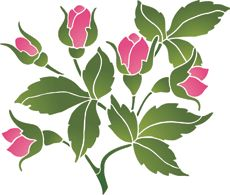 Pictures batik - Поиск в Google Stencils, Leaf Stencil, Stencil Art, Stencil Patterns, Stencil Designs, Mosaic Patterns, Fabric Paint Designs, Bullet Journal Art, Cool Art Drawings