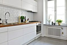 Post: Planta semidiáfana con separaciones en arco ----> decoración espacios y pisos pequeños, 2 estilo nórdico escandinavo, distribución diáfana, decoración interiores, cocinas pequeñas, decoración con arcos