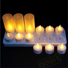 Yellow Flicker Led Candles Rechargeable Tea lights     Tag a friend who would love this!     FREE Shipping Worldwide     Get it here ---> https://www.cancoot.com/yellow-flicker-led-candles-rechargeable-tea-lights/