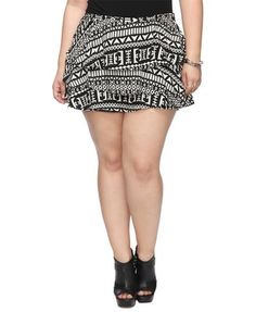 0fdef7db66 30 under 30 bucks - flounced geo shorts forever21 plus  19.80 http   ow